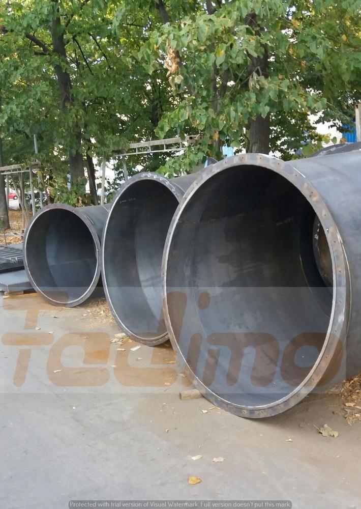 Tubazione in lamiera nera - 4