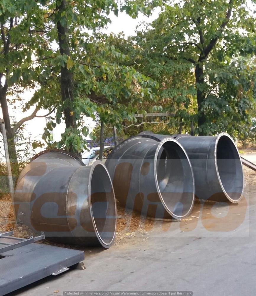 Tubazione in lamiera nera - 5